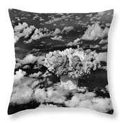 Test Baker Throw Pillow
