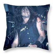 Testament - Chuck Billy Throw Pillow