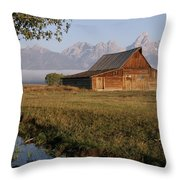 Teton Morning Magic Throw Pillow
