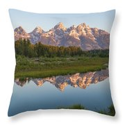 Teton Reflecting Throw Pillow