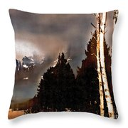 Teton Storm Throw Pillow
