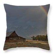 Teton's Pot Of Gold Throw Pillow