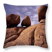 Texas Canyon Gnomes Throw Pillow