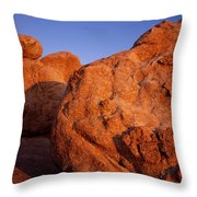 Texas Canyon Sunrise 1 Throw Pillow