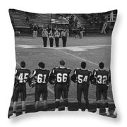 Texas High School Football  Throw Pillow