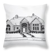 Texas Home 3 Throw Pillow by Hanne Lore Koehler