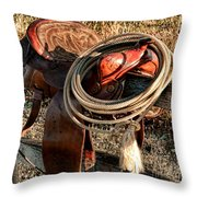 Texas Morning Throw Pillow