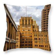 Texas Proud Throw Pillow