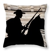 Texas Ranger Throw Pillow