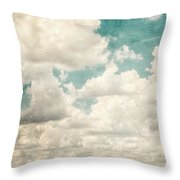 Texas Skies Throw Pillow