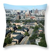 Texas State School For The Deaf Throw Pillow