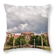 School Of Education Throw Pillow