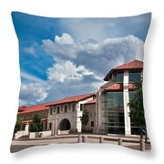 Texas Tech Student Union Throw Pillow