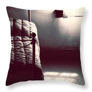 Texted And Rang  Throw Pillow