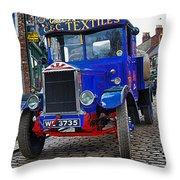 Textile Truck Colour Throw Pillow