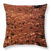 Texture In Red Throw Pillow