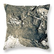Texture No. 2 Effect 1 Throw Pillow