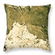Texture No.2 Beige Version Throw Pillow