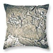 Texture No.2 Effect 3 Throw Pillow