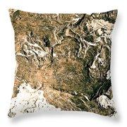 Texture No.2 Effect 5 Throw Pillow