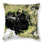 Texture No.2 Effect 7 Throw Pillow
