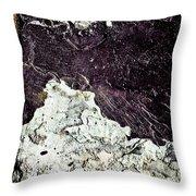 Texture No.2 Raw Throw Pillow