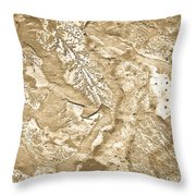 Texture No.6 Effect 2 Throw Pillow