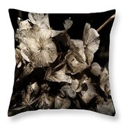 Texture Of Ageing Throw Pillow