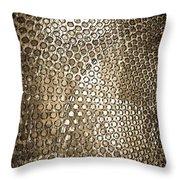 Texture Of Gong Throw Pillow