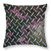 Texture Reflected Throw Pillow