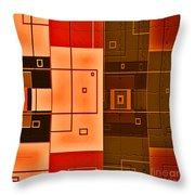 Textured Beauty Throw Pillow