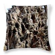 Textured Tree Throw Pillow
