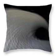 Textured Vortex Throw Pillow