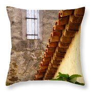 Textures In A Provence Village Throw Pillow