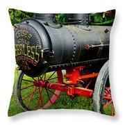 The Old Peerless Throw Pillow