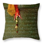Thai Bell Throw Pillow