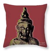 Thai Buddha #1 Throw Pillow