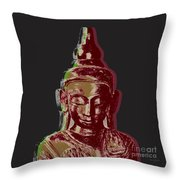 Thai Buddha #3 Throw Pillow