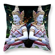 Thailand 3 Throw Pillow