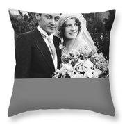 Thalberg And Shearer Wedding Throw Pillow