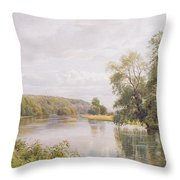 Thames Throw Pillow