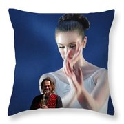 Thank You For The Music Throw Pillow