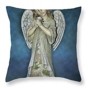 Thank You My Angel Throw Pillow
