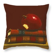 Thank You To A Wonderful Teacher  # 1 2 Throw Pillow