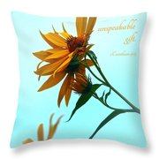 Thankfulness Throw Pillow