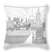Thanks, Baby. Ciao Throw Pillow