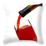 Thanks Throw Pillow by Olivier Le Queinec