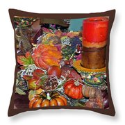 Thanksgiving Remembrance Throw Pillow
