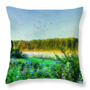 That Early Morning Light Throw Pillow