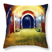 That Long Walk Home Throw Pillow